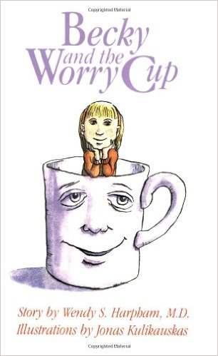 Book cover for Becky and the Worry Cup
