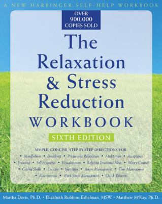 Image of Book cover for The Relaxation & Stress Reduction Workbook