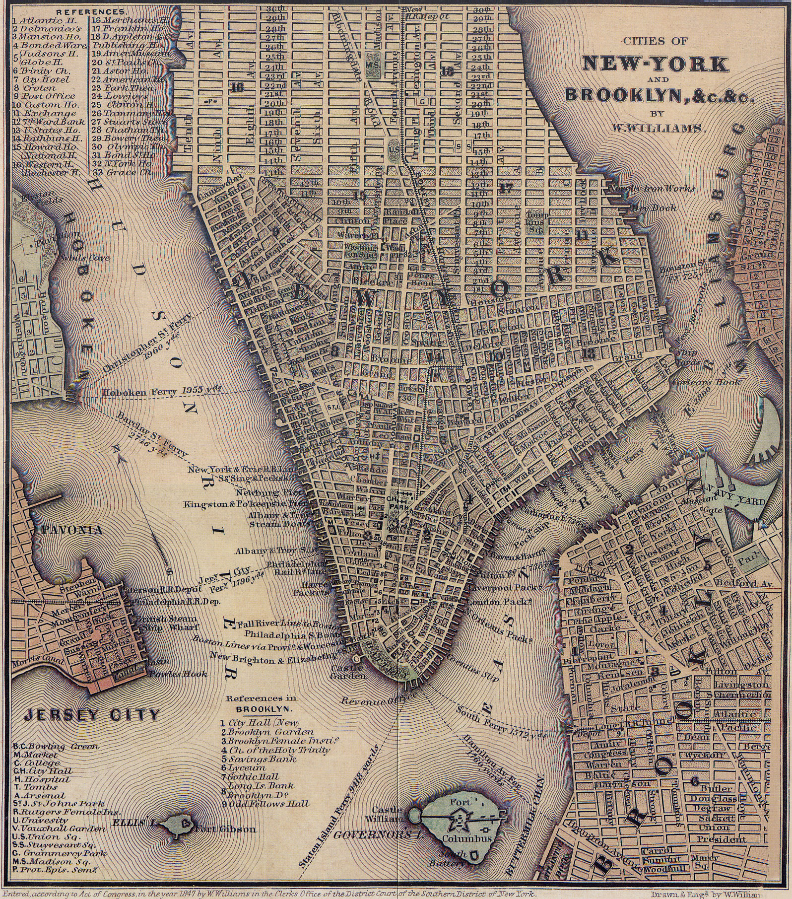 Maps Architectural Technology Subject Guides at New York City