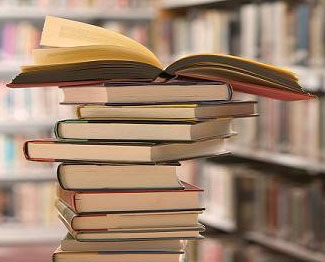 Photograph of books