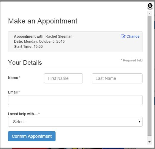 email to confirm an appointment