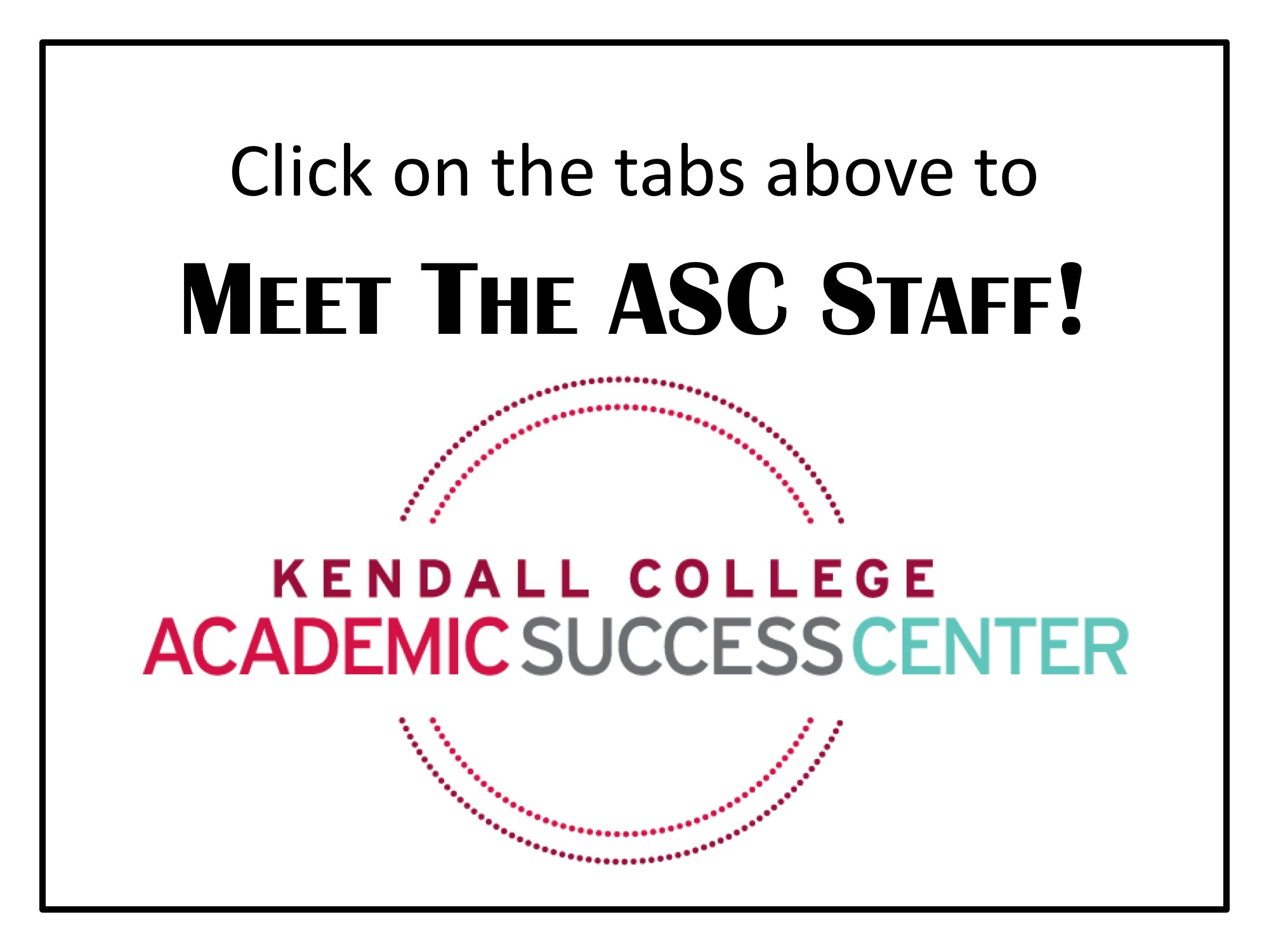 Meet the ASC Staff