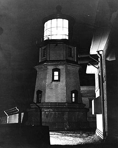 Night view, Split Rock Lighthouse (1946)