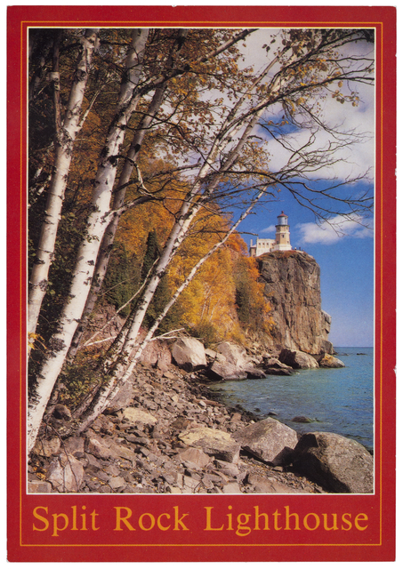 Autumn View of Split Rock Lighthouse (1985)