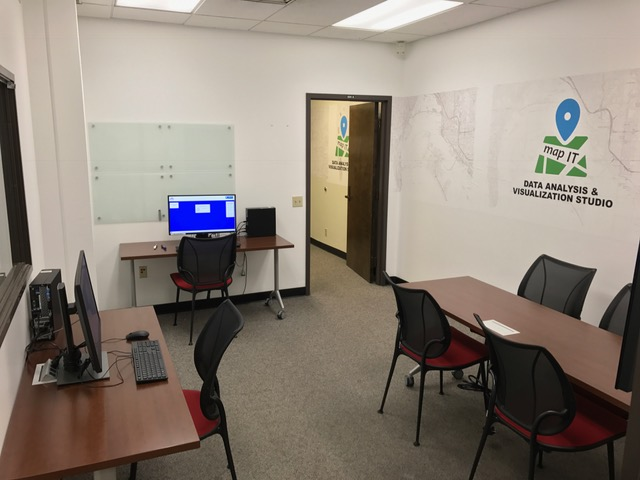 Map IT individual and group workstations