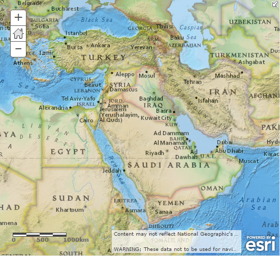The Middle East Geography Images Diagram Writing Sample