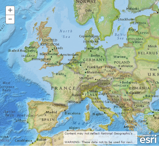 Western Europe - GEOG 2750 World Regional Geography - Research ...