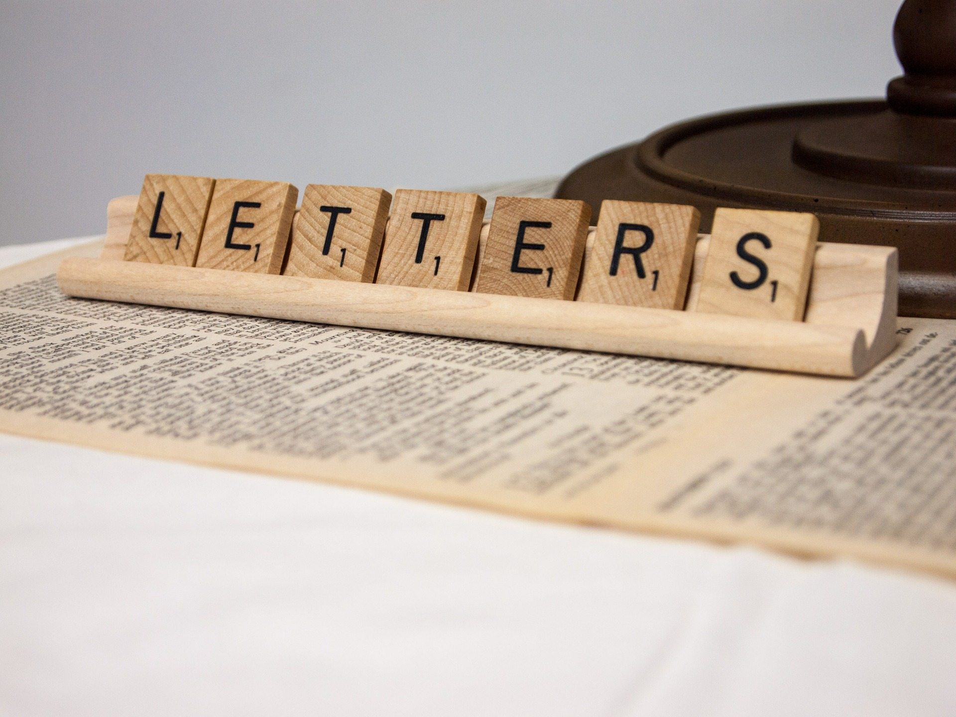 Picture of Scrabble letters