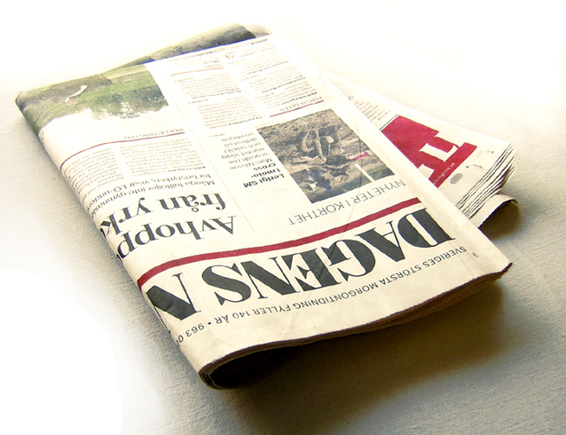 Picture of a newspaper from Pixabay.com