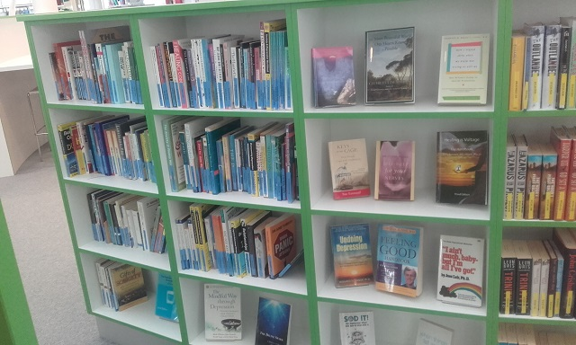Positive living collection in the Main Library