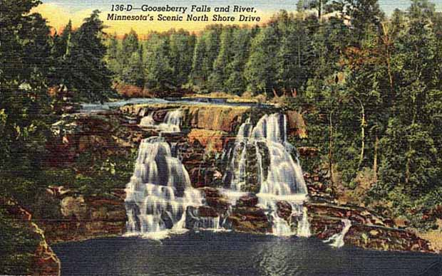 Gooseberry Falls and river.