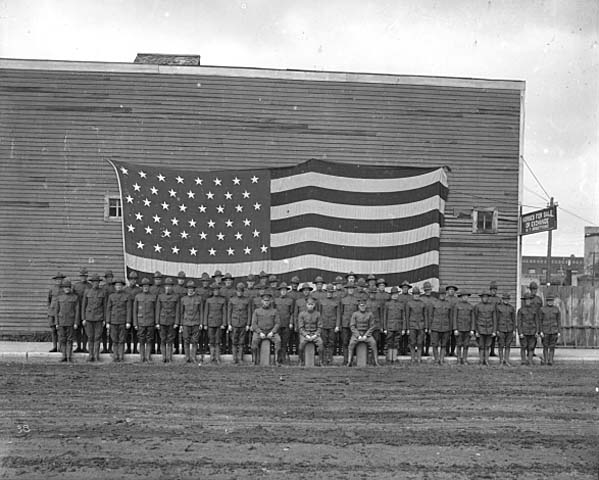 Regiment from Aitkin County, c. 1917