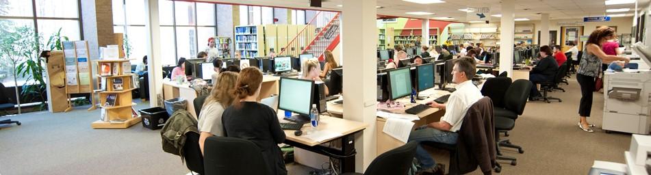 Library at Orillia campus
