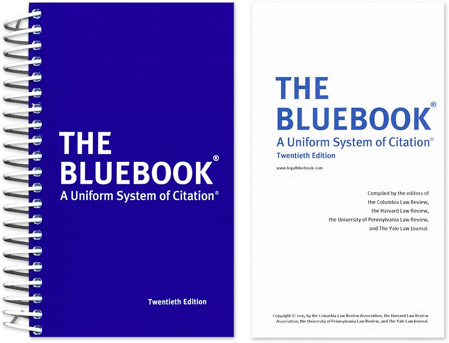 Introduction to legal citation legal citation libguides at the blue book a uniform system of citation ccuart Image collections