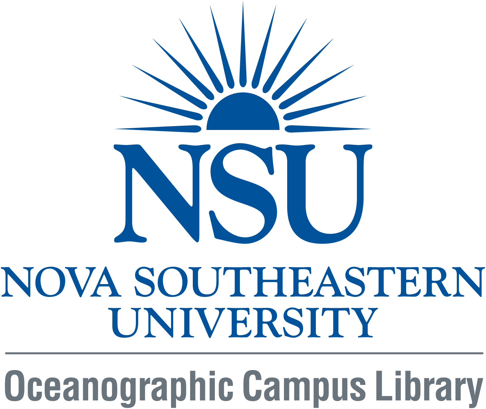 Oceanographic Campus Library Square Logo