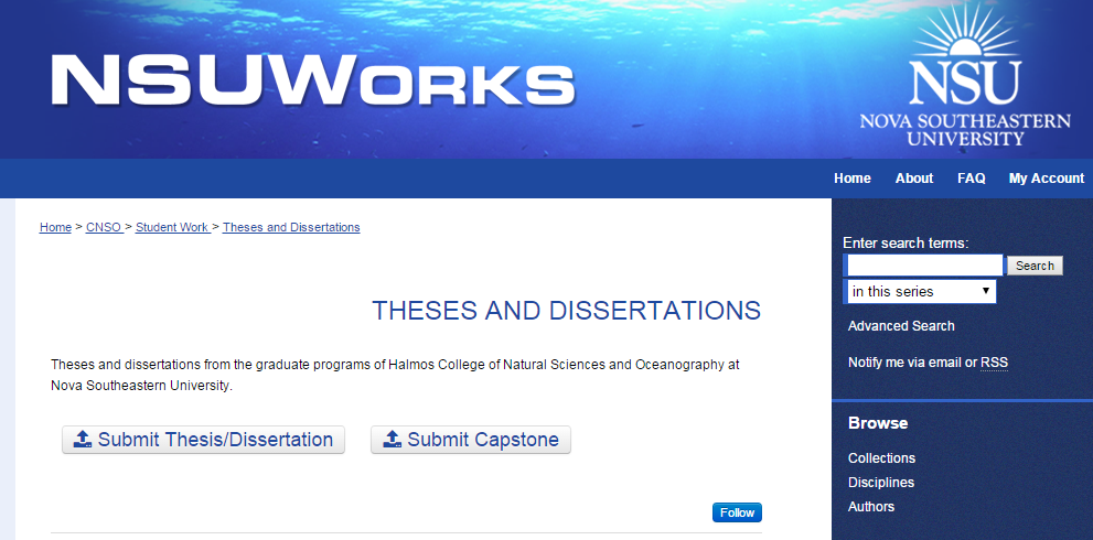 submit thesis online Thesis submission is entirely online it is the student's responsibility to upload all documents and complete the submission steps to submit your thesis to the.