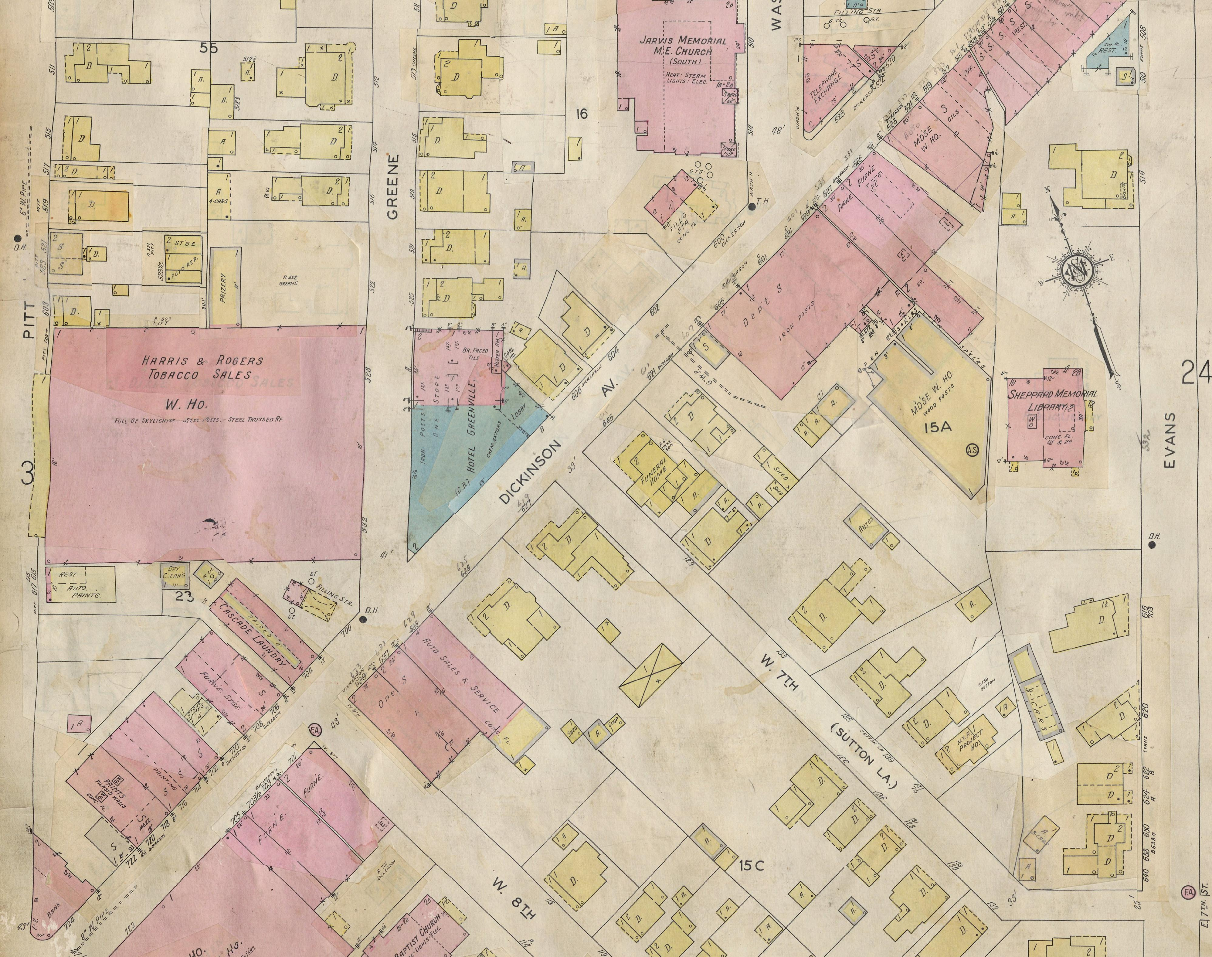 Home Sanborn Fire Insurance Maps of North Carolina Research