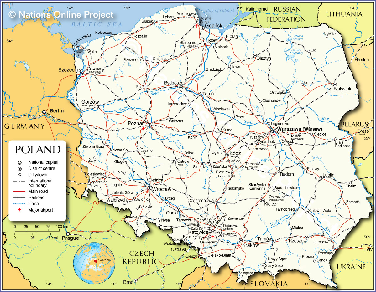 Central Europe Political Map.Central Europe Open Access In Central And Eastern Europe Library