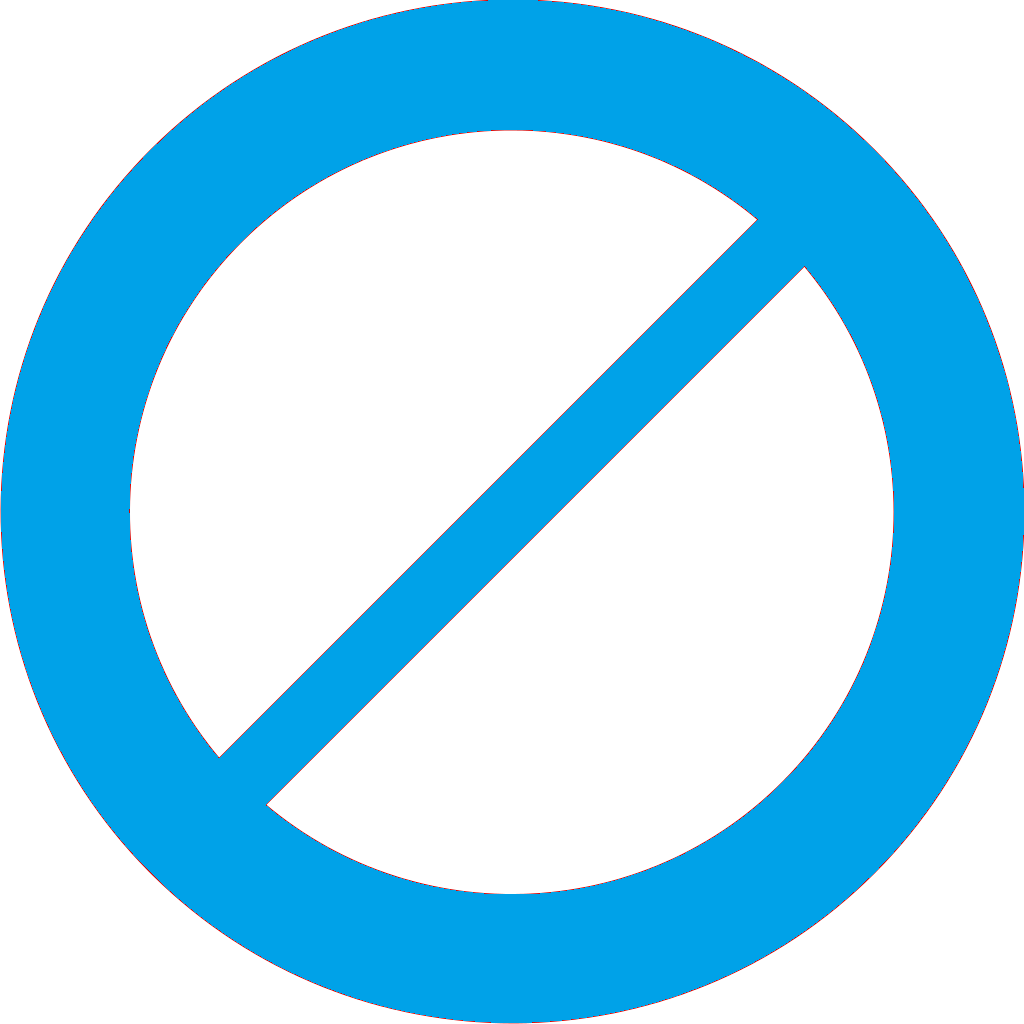 off limits icon