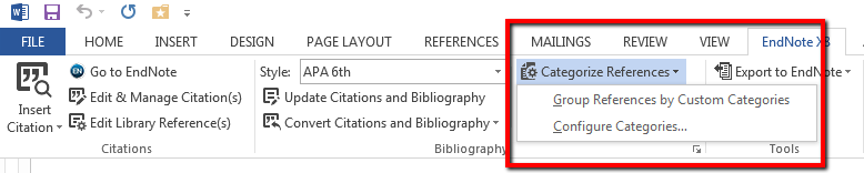 creating bibliographies with endnote endnote library management