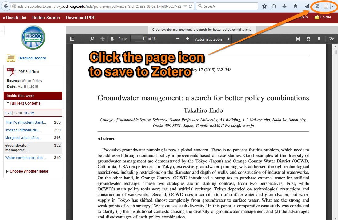 Saving your research citation management for law students zotero saving articles ccuart Images