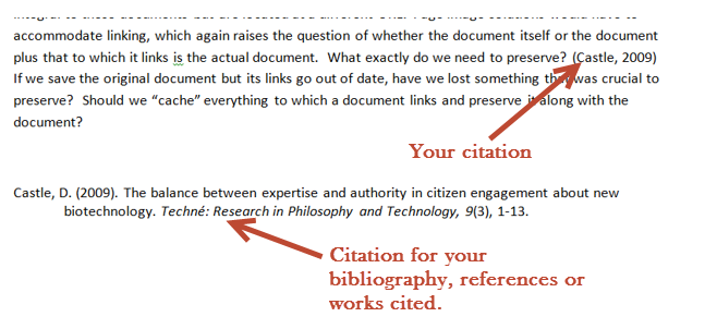 proper use of footnotes in a research paper
