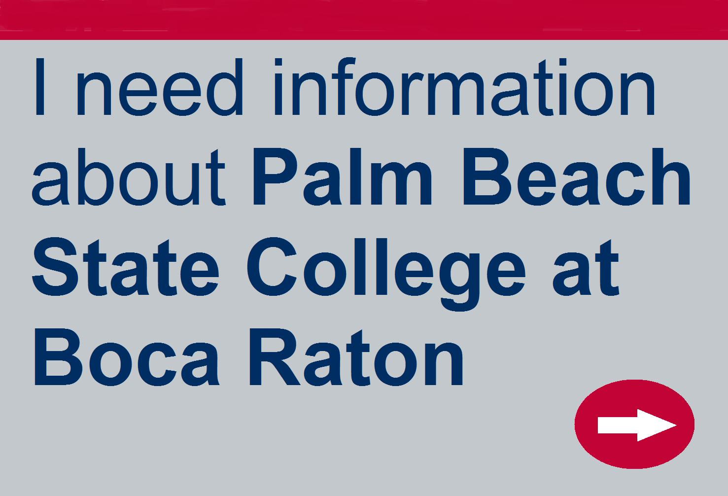 Need information about Palm Beach State College at Boca Raton