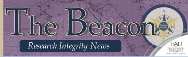Research Integrity Newsletter banner