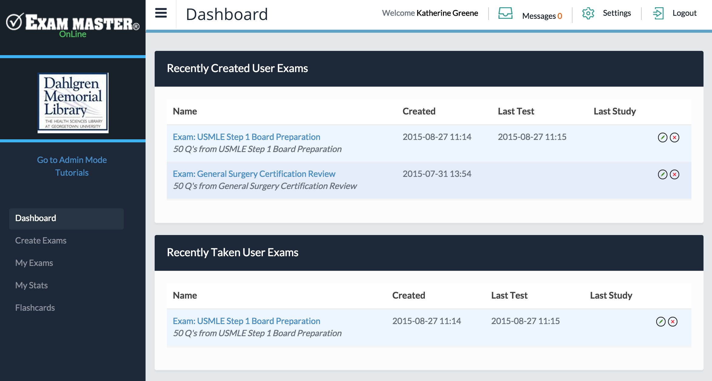 exam master online test preparation guide guides at dahlgren as you work exam master online your dashboard will be populated recently created user exams recently taken user exams and recently scored