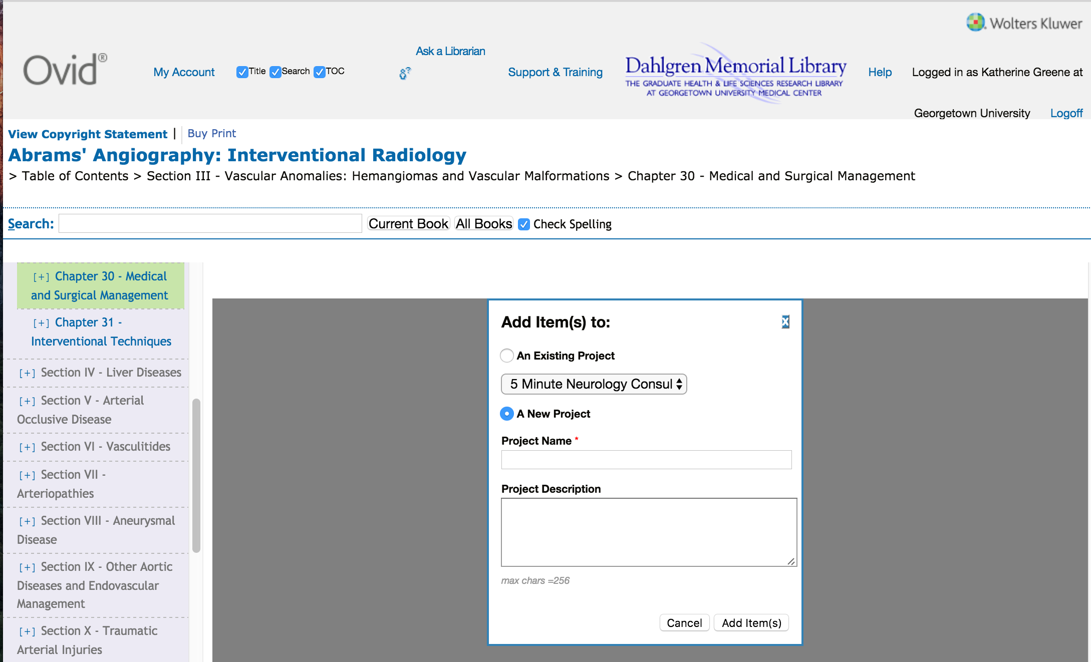 Books@Ovid - eBooks-Reading and Using - Guides at Dahlgren ...