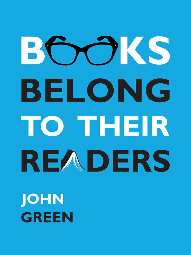 "Text that says ""Books Belong to Their Readers"""