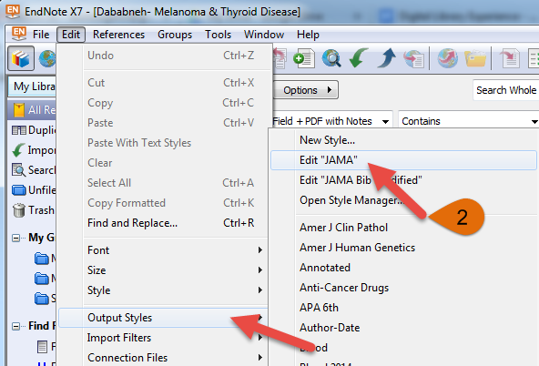 how to put citation in word from endnote