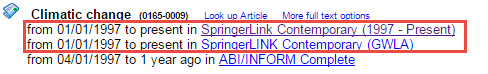 SpringerLink Journal in E-Journal Portal