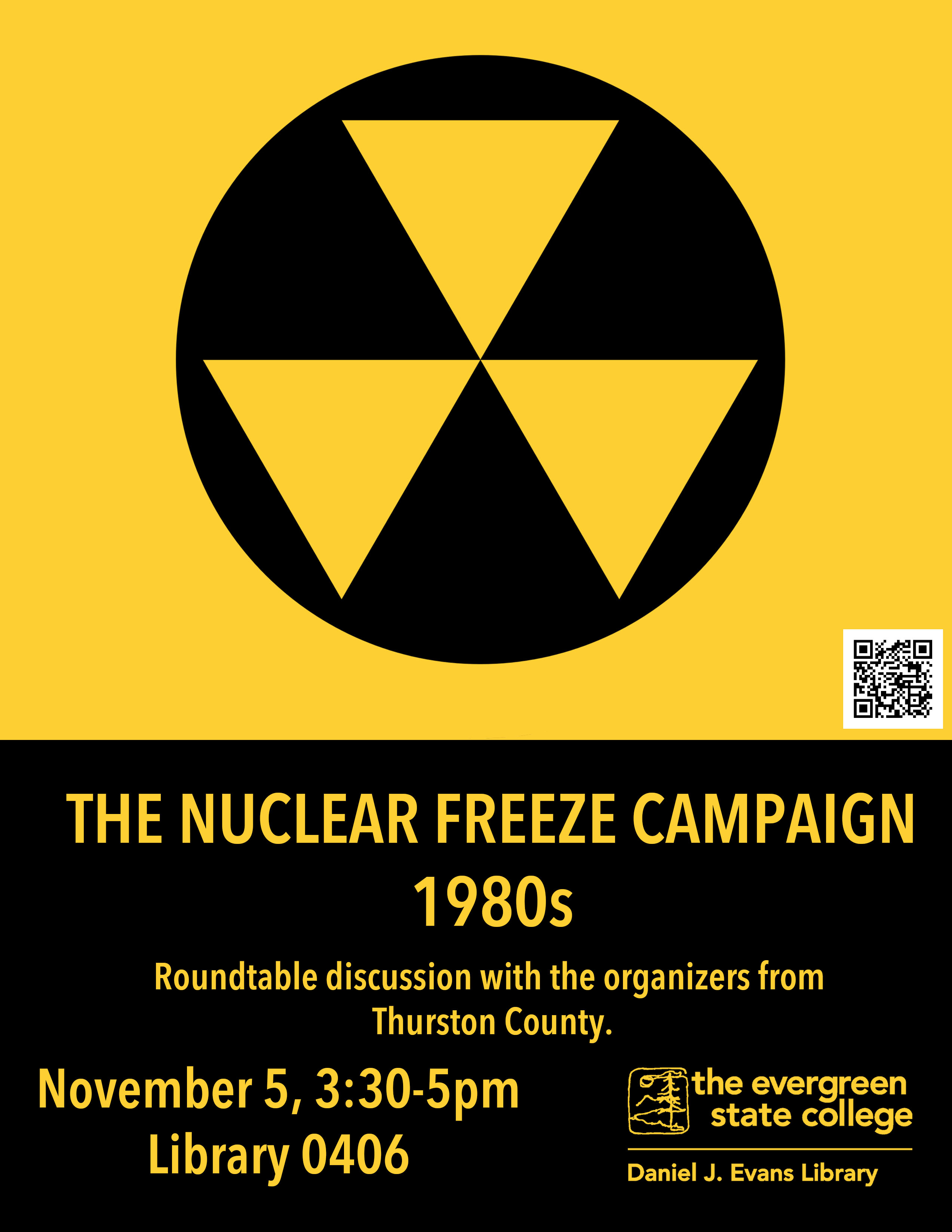 nuclear freeze roundtable discussion event
