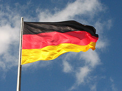German flag by fdecomite, on Flickr