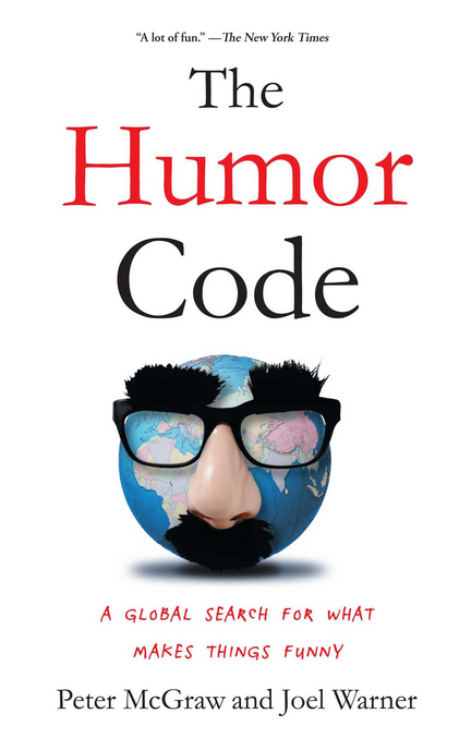 Image of the Humor Code book cover