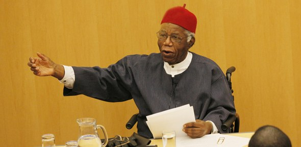 Professor Chinua Achebe - click for further events and seminars