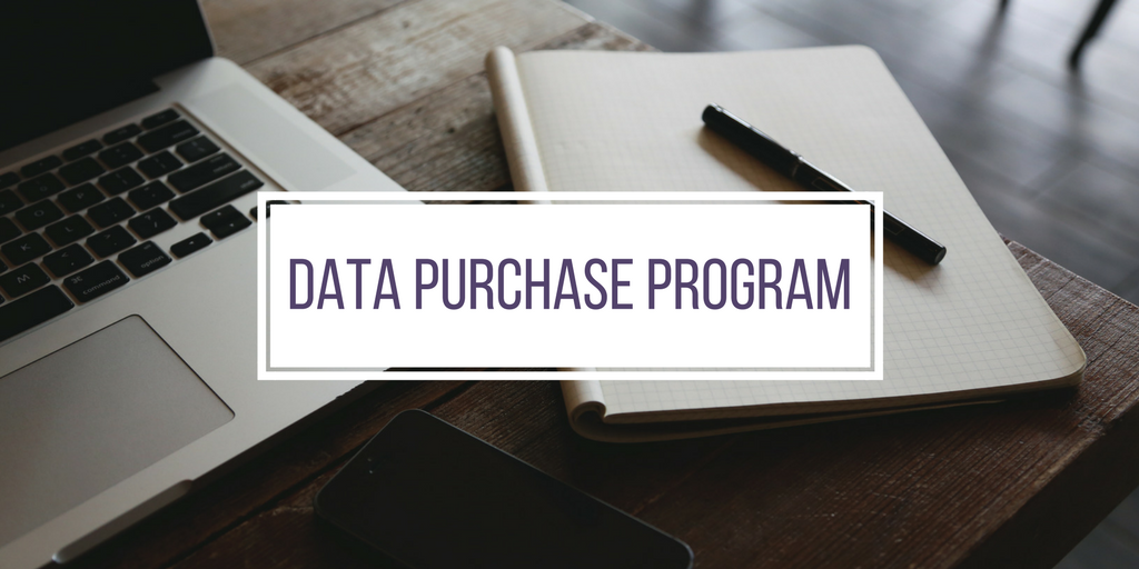 Title: Data Purchase Program