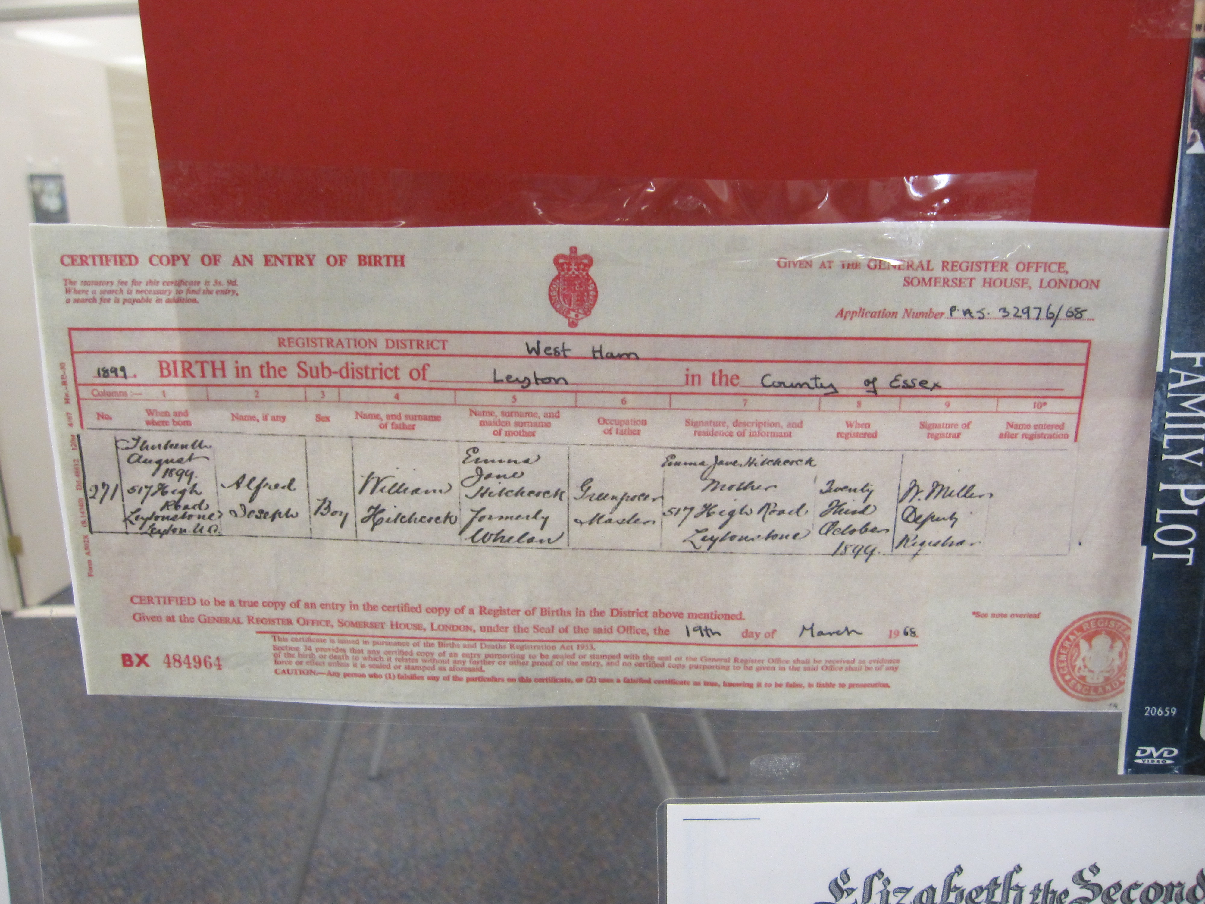 Film noir exhibits at the undergraduate library 2016 2017 by alfred hitchcock birth certificate aiddatafo Choice Image