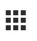 Image of the Google Apps icon, which can be visualized as a 3X3 grouping of squares.