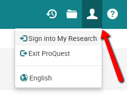 ProQuest Personal Account Sign In