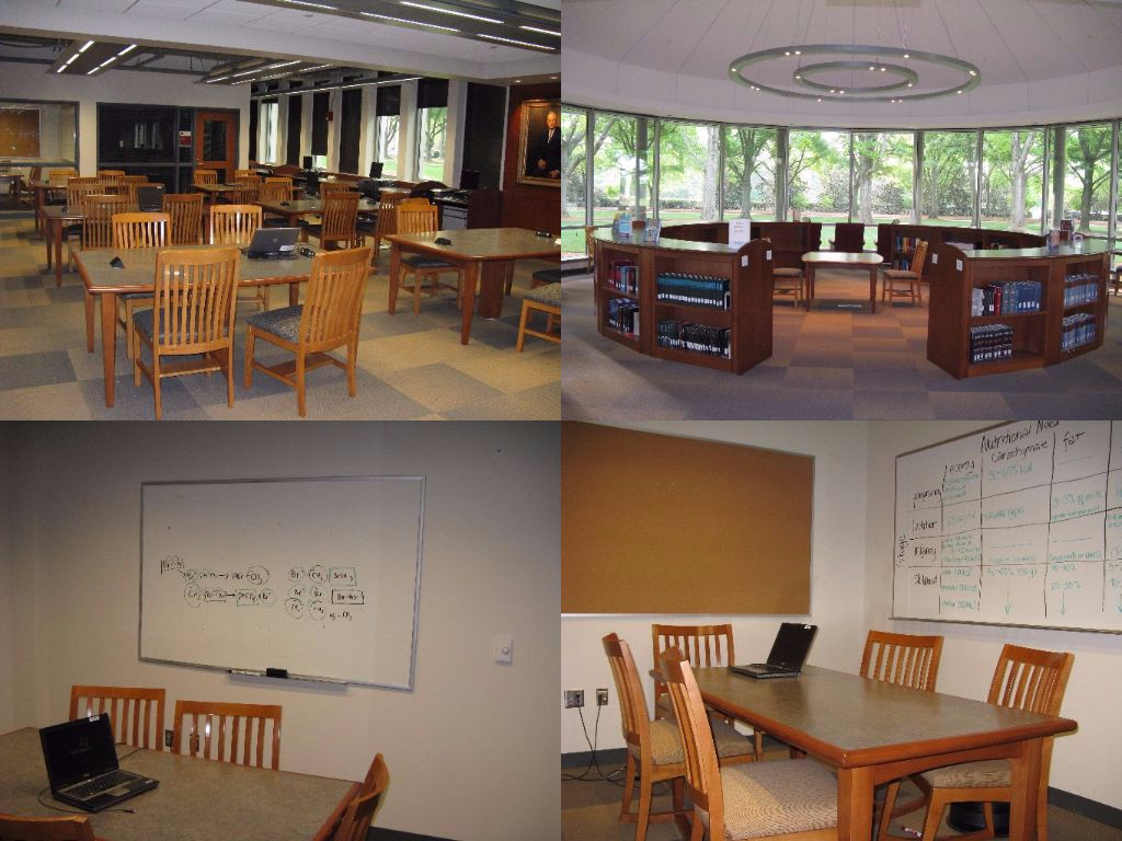 Study Room Photo Collage