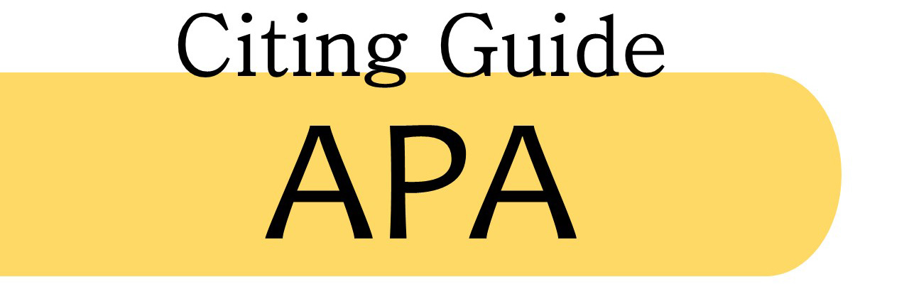APA Citing Guide