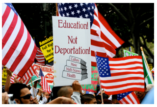 Education Not Deportation image from Jim Winstead at flickr.com