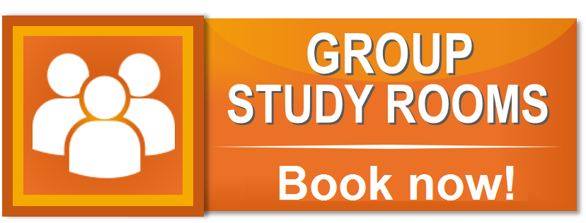 Group Study Rooms Book now.  This orange button links to the webpage where you can book a group study room at any University of Manitoba Library.