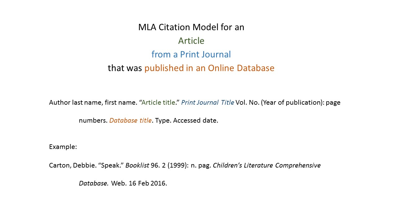 mla format works cited online article How to cite a research paper using mla format how to cite a research paper using mla format april 24, 2018 types of the works cited page at the end.