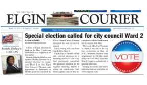 Elgin Courier newspaper