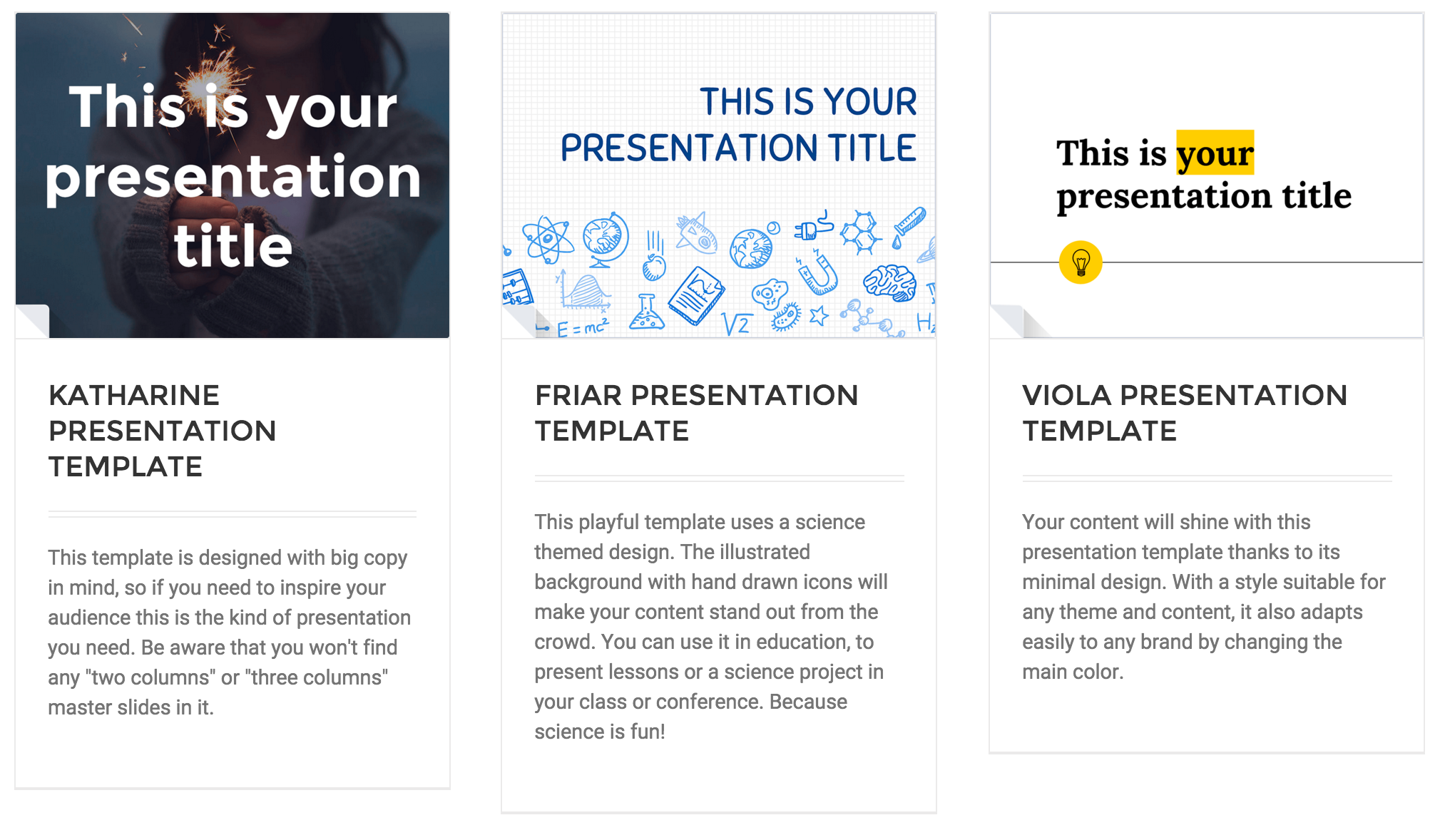 google slides templates - tips and tools from the geier library, Presentation templates