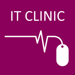 IT clinic icon