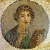 Picture of Greek poet Sappho